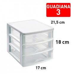 CAJONERA DE PLASTICO 3 CAJONES