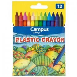CERAS CAMPUS PLASTIC CRAYON 12
