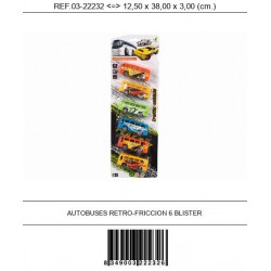 AUTOBUSES RETRO-FRICCION 6...