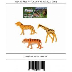 ANIMALES SELVA 3 BOLSA